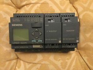 Siemens Logo 6ED1052-1MD00-0BA6 24VDC  8I  4Q +  4 Analogue Inputs