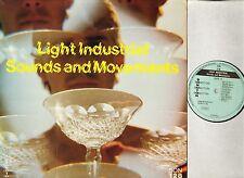 MAC PRINDY/CHARLES SIMONDI light industrial sounds and movements SON 128 LP EX-