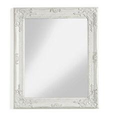 Specchio da parete con cornice bianco anticato specchiera montemaggi shabby chic