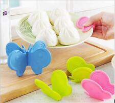 1x  Butterfly Shaped Silicone Anti-scald Devices Kitchen Tool Gadget Random axm1