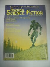 ABORIGINAL SCIENCE FICTION July/August 1989, Anthology