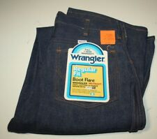 Vintage Wrangler Regular Fit Boot Jeans, Blue, W29-L38, NWT, USA Made
