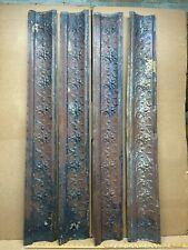 "4pc Lot 48"" x 6"" Molding Antique Ceiling Tin Vintage Reclaim Salvage Craft Art"