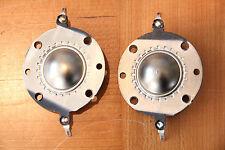 "1pr Audax/Polydax 1"" polymer dome tweeter replacement diaphragms voice coils"