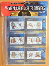 2000 NHL ALL-STARS COMMEMORATIVE STAMP CARD SET GRETZKY BOBBY ORR HOWE RICHARD