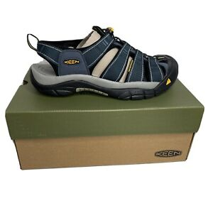 Keen Newport H2 Sport Sandals Mens Size 11.5 11 1/2 NWB Navy Gray 1001938 Shoe