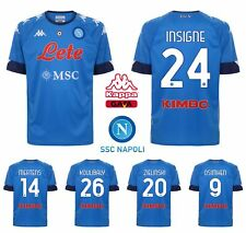 Official Jersey Naples 2020/2021 Kappa Lozano Mertens Osimhen Insigne Koulibaly