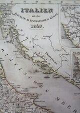 ALT-U. grenzkol. acciaio scheda chiave: Italia, costa dell'Albania e Dalmazia 184