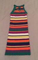Women's By The Way Stretch Knit Striped BodyCon Dress Size Small