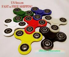 Tri Omega Fidget Spinner Ceramic Finger Spin Stress Relief Toy EDC ADHD Autism