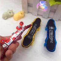Mini LED Light Fingerboard Finger Tech Deck Truck Skateboard For Kids Toy Gift