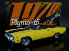 GMP 1970 Plymouth Road Runner Mopar Hemi Yellow 1:18 Scale Diecast Model Car