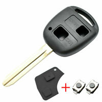 Car Remote Key Shell Case For Toyota Corolla Camry Prado Land Cruiser RAV4