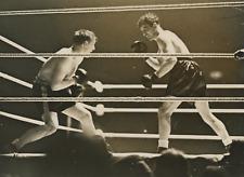 Tommy Farr vs. Max Baer Vintage silver print Tirage argentique  18x24  Cir