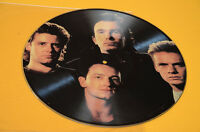 U2 LP PICTURE DISC ZOO TV ORIGINAL PRESS EX