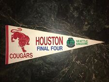 HOUSTON COUGAR 1984 FINAL FOUR PENNANT