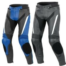 RIDER MOTORCYCLE PANT MEN LEATHER TROUSER MOTORBIKE RACING LEATHER TROUSER