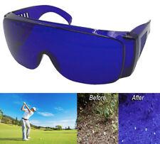 Golf Ball Finder Glasses Cover Over All Blue Lenses Sunglasses Wear Prescription