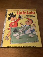 1st Edition 1954 Little Golden Book Marge's Little Lulu and her Magic Tricks