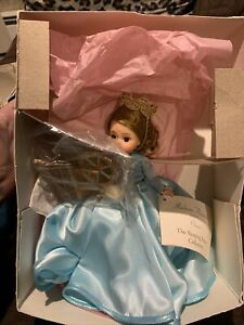 NWD MADAME ALEXANDER SLEEPING BEAUTY 75TH ANNIVERSARY 13600 BLUE DRESS DOLL *