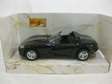 Dodge Viper GTS In A Black & Silver 139 Scale Superior Diecast From Maisto dc117