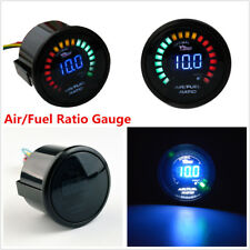 "2"" 52MM 20 LED Digital Car Air/Fuel Ratio Monitor Meter Pointer Gauge Universal"