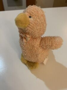 "Vintage Russ Chapsy Duck Home Buddies Soft Plush Bean Bag Stuffed Animal 5"" Doll"