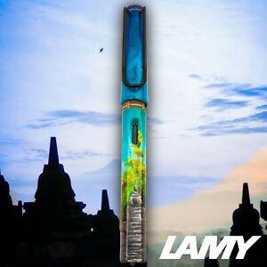 Lamy Safari Handmade Candi TEMPLE Paint Art Urushi coated F Nib Fountain Pen