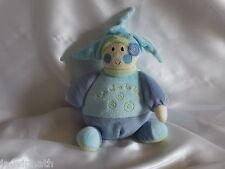 Doudou lutin boule, bleu et vert, Un rêve de bébé