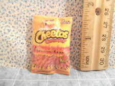Barbie 1:6 Kitchen Food Miniature Bag of Cheetos Flaming Hot Chips