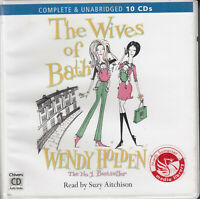 Wendy Holden The Wives Of Bath 10CD Audio Book Unabridged Contemporary Fiction