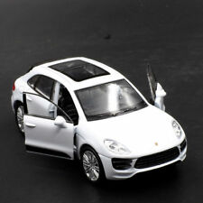 Porsche Macan Turbo Model Car Toys 1:36 Alloy Diecast Open two doors Gift White