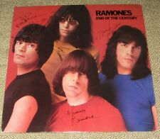 Ramones End of the Century Signed autographed