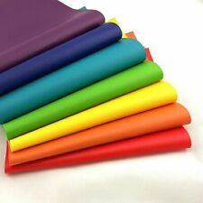 Litchi Faux Synthetic PU Leather Fabric For Sewing Bow DIY Bag Shoes Material