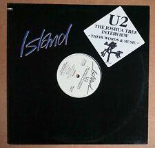 U2 - Joshua Tree Interview LP Promo Only USA Vinyl UNPLAYED ! ! ! Island PR-2049