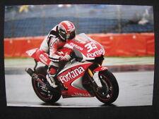 Photo Fortuna Tech 3 Yamaha YZR-M1 2004 #33 Marco Melandri (USA) TT Assen #2