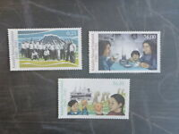 2016 GREENLAND DURING WWII SET 3 MINT STAMPS MNH