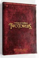 THE LORD OF THE RINGS THE TWO TOWERS DVD New Line 2003 EXTENDED EDITION R1 NTSC