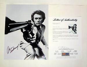 Clint Eastwood Dirty Harry Signed Autograph 11x14 Photo PSA/DNA COA #2