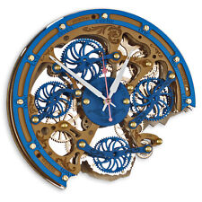 Automaton Bite 1682 Touareg HANDCRAFTED moving gears steampunk wall clock