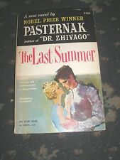 PASTERNAK THE LAST SUMMER USA AVON BOOKS PAPERBACK 1ST EDITION 1958 156 PAGES