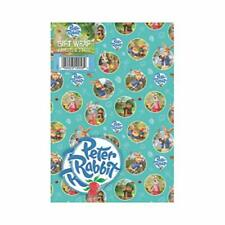 Peter Rabbit Gift Wrap Wrapping Paper 2 Sheets 2 Tags NEW