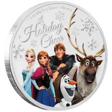 Niue - 1 Dollar 2019 - Disney™ - Season's Greetings (6.) - 1/2 Oz Silber PP