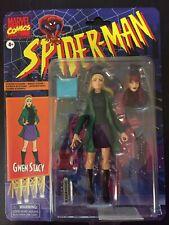 Marvel Legends Retro Spiderman Gwen Stacy