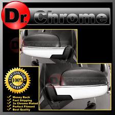07-13 Chevy Silverado+Avalanche Triple Chrome Lower Half Mirror Cover 1 Pair