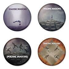 Imagine Dragons, A - 4 chapas, pin, badge, button