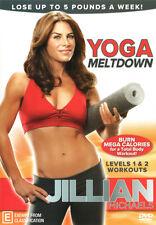 Jillian Michaels: Yoga Meltdown * NEW DVD * burn calories (Region 4 Australia)