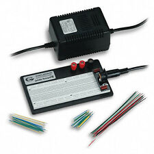 Global Specialties PRO-S-LAB Breadboard w/Power Supply & Jumper Wires