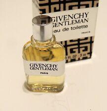 New in Box Vintage 1978 Givenchy Gentleman Eau de Toilette 3 ml Bottle in Box