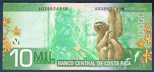 COSTA RICA - 10 000 COLONES Pick n° 277 du 2 septembre 2009 en TTB A0038604918